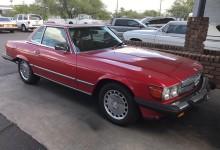 1986 Mercedes 560 SL